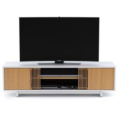 Beautiful storage consoles or credenzas in their own right, VERTICA also provides versatile storage for home theater systems of all sizes. All models include signature features such as adjustable shelves, hidden wheels, removable back panels, integrated cable management and more.