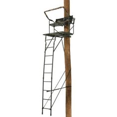 Field Amp Stream Outpost 2x 18 Ladder Stand Dick S