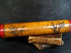 Your place to buy and sell all things handmade Wooden Wallpaper, Wallpaper Roller, Antique Wallpaper, Old Paper, Lamp Bases, Wood Blocks, Decoration, French Antiques, Bonjour