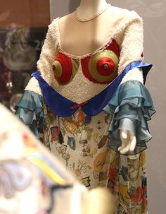 Grayson Perry's Dresses: Dress, synthetic fibres and printed rayon, designed by Sara Mahdian, Central St Martins, London, 2010