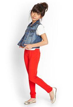 Comfy Cool Knit Jeggings (Kids) | FOREVER21 girls - 2000071331