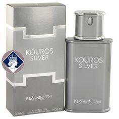 Yves Saint Laurent Kouros Silver 100ml Eau De Toilette Spray EDT Cologne for Men