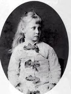 Princess Alice, as a child, daughter of Queen Victoria.