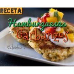 .@Claudia Park León | Hamburguesas de Garbanzos Necesitas 1 taza de garbanzos crudos 1/2 zanahoria... | Webstagram