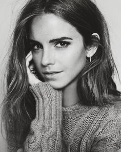 ain't no cure for love - Emma Watson on the cover of the ELLE Spain October Issue, 2015