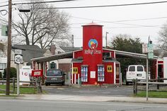 "For those of you not familiar with Long Island this is the ""Dairy Barn"" I speak of.) Drive thru convenience store. Fire Island, Long Island Ny, Great Buildings And Structures, Modern Buildings, East Northport, Cold Spring Harbor, New Hyde Park, Dubai Skyscraper, Island Girl"