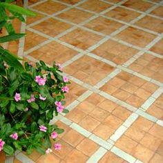 Moroccan tile - patio concept