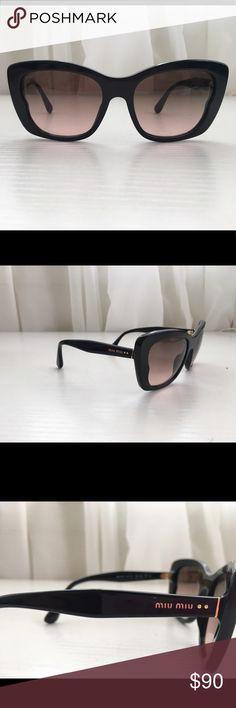 Miu miu sunglasses A upswept acetate frame gives you the glamour of the cat-eye in a deep squared off frame. Miu Miu Accessories Sunglasses