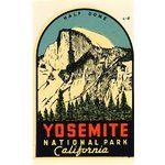 Yosemite, National Park, CA. USA  ~Vintage Poster~