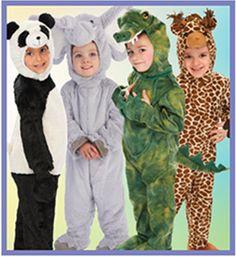 Toddler Plush Animal Costumes | Just Pretend Kids