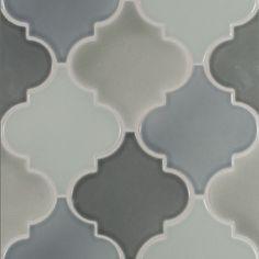 american handmade ceramic tile pratt and larson flat arabesque shape gloss wall tile backsplash tile bathroom tile