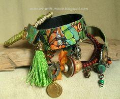 ART WITH MOXIE: boho style bangles