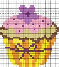 embroidery pattern cross stitch cupcake - Google-Suche