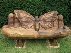Butterfly bench... A memorial bench in a scenic place after I die... Brian, remember this! :)