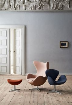 'Colours from Fritz Hansen | New finds - April 2018 | These Four Walls blog