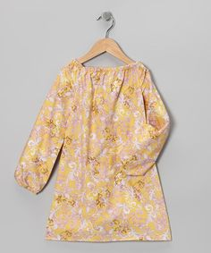 Take a look at this Blue Juniper Pink & Yellow Sophie Dress - Infant, Toddler & Girls by Blue Juniper on #zulily today!