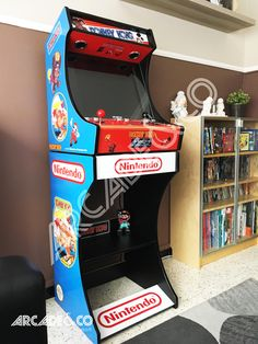 Pi Arcade, Arcade Bartop, Arcade Game Room, Arcade Games, Gaming Cabinet, Arcade Cabinet Plans, Mini Arcade Machine, Game Arena, Retro