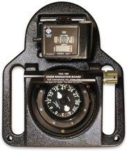 Diver Navigation Board   Complete Navigation Board with Digital Depth Gauge and Dive Chronometer.