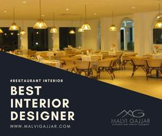 A unique Restaurant Interior Design increases sales by attracting new and retaining old customers. We offer Theme interiors and furnishing, renovation projects and dining spaces. Call now: 8849066437 visit us: www.malvigajjar.com Unique Restaurants, Restaurant Interior Design, Best Interior, Designers, Interiors, Spaces, Dining, Table, Projects