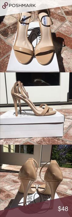 Steve Madden Stecy Steve Madden stecy heels in nude color. Size 9. Fit true to size. Beautiful shoes. Willing to accept offers. Steve Madden Shoes Heels