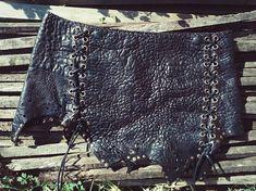 Earth Warrior Leather Skirt