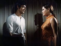Bruce Lee and Marilyn Bautista in Tang shan da xiong The Boss Bruce, The Big Boss, Kung Fu, Lee Chen, Bruce Lee Chuck Norris, Hong Kong, Bruce Lee Movies, Bruce Lee Family, Bruce Lee Photos