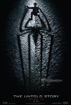 We can't wait for the release of The Amazing Spider-Man!