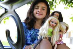 8-year-old, Angelina Giani of  Boca Raton, didn't like the clothes and exessive makup of the Bratz dolls so she wrote a letter to the company and included her drawings of more appropriate clothing designs for the dolls. Turns out the company liked it,  going so far as to send her three dolls dressed in the clothes she had sketched .