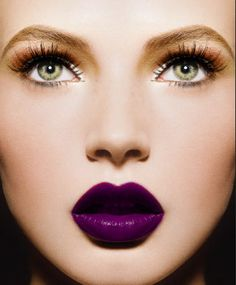 Bold Purple Lips #Wicksteads #MakeUp
