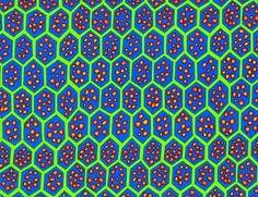 Kaffe Fassett-Pomegranate-Cobalt Fabric