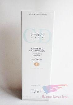 Dior HYDRA LIFE Pro Youth Skin Tint SPF20 001 NATURAL 1.7 oz. *NIB* RP$45.00 #Dior