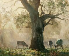 Oh What A Beautiful Morning! by John McCartin Oil ~ 62cm x 72cm