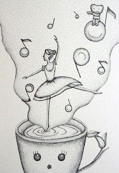 針筆的魅力畫 @ NoRaH's Coffee Shop :: 隨意窩 Xuite日誌