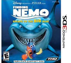 Pixar Nintendo 3DS - Finding Nemo Escape to the Big