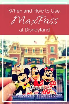 When and how to use MaxPass at Disneyland. Is this new feature worthwhile for your family? | tipsforfamilytrips.com | California | Disney tips and tricks | Disney on a budget Disneyland Tickets, Disneyland Vacation, Disneyland Tips, Disneyland Paris, Cruise Vacation, Disney Secrets, Disney Tips, Disney Planning
