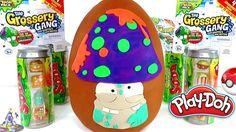 Huevo Sorpresa Gigante de Mushy Mushroom de Grossery Gang Crusty Chocola...