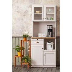 キッチン収納 食器棚 レンジ台 スライド扉 オープン収納 引き出し B+Bタイプ ハイタイプ ナチュラル
