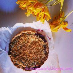 Ricette senza Nichel: TORTA CRUMBLE SBRICIOLATA nichel free senza latticini