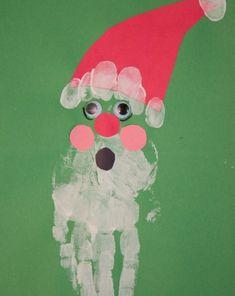 Activities: Handprint Santa