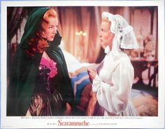 SCARAMOUCHE Janet Leigh Eleanor Parker Rare Glossy Deluxe Lobby Card 1952
