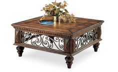 1384 by Harden Furniture in Johnson City, TN - Square Cocktail Table