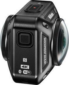 Voilà, il fallait bien que cela arrive un jour et c'est en ce CES 2016 que Nikon vient d'annoncer sa toute première actioncam avec la KeyMission 360.