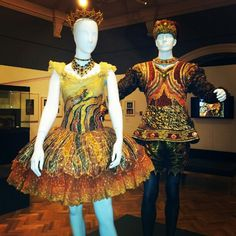 Ballet costumes exhibited in the Time in Motion exhibition held at the State Library of NSW; photographed by Veronica Dartnell @msscarlett4eva.