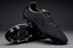 Nike Magista Opus FG - Black/Black/Black/Volt