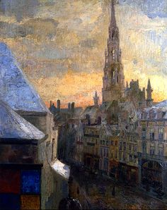 Brussels Town Hall James Ensor - 1885