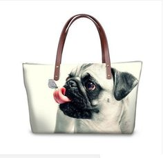 PUG SHOE BAG BALLET SPORTS BAGS DRAWSTRING WASHABLE GIFT IDEA SHOES PUGS PET DOG