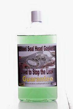 Steel Seals Head Gasket Repair... (Used For 6 & 8 Cylinders)... Guarantee/1000ML