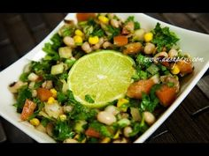 Black Eyed Peas And Corn Salad Recipe (Healthy Food) | GettingInShape