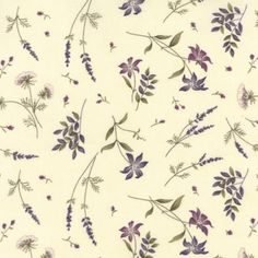 The Potting Shed Antique White 6626 11 Moda Fabrics and Holly Taylor Floral Fabric, Floral Flowers, Florals, Quilt Patterns Free, Fabric Patterns, Thing 1, Book Quilt, Flower Of Life, Gorgeous Fabrics