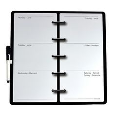 Magnet Dry Erase Board Agenda, $10, now featured on Fab.